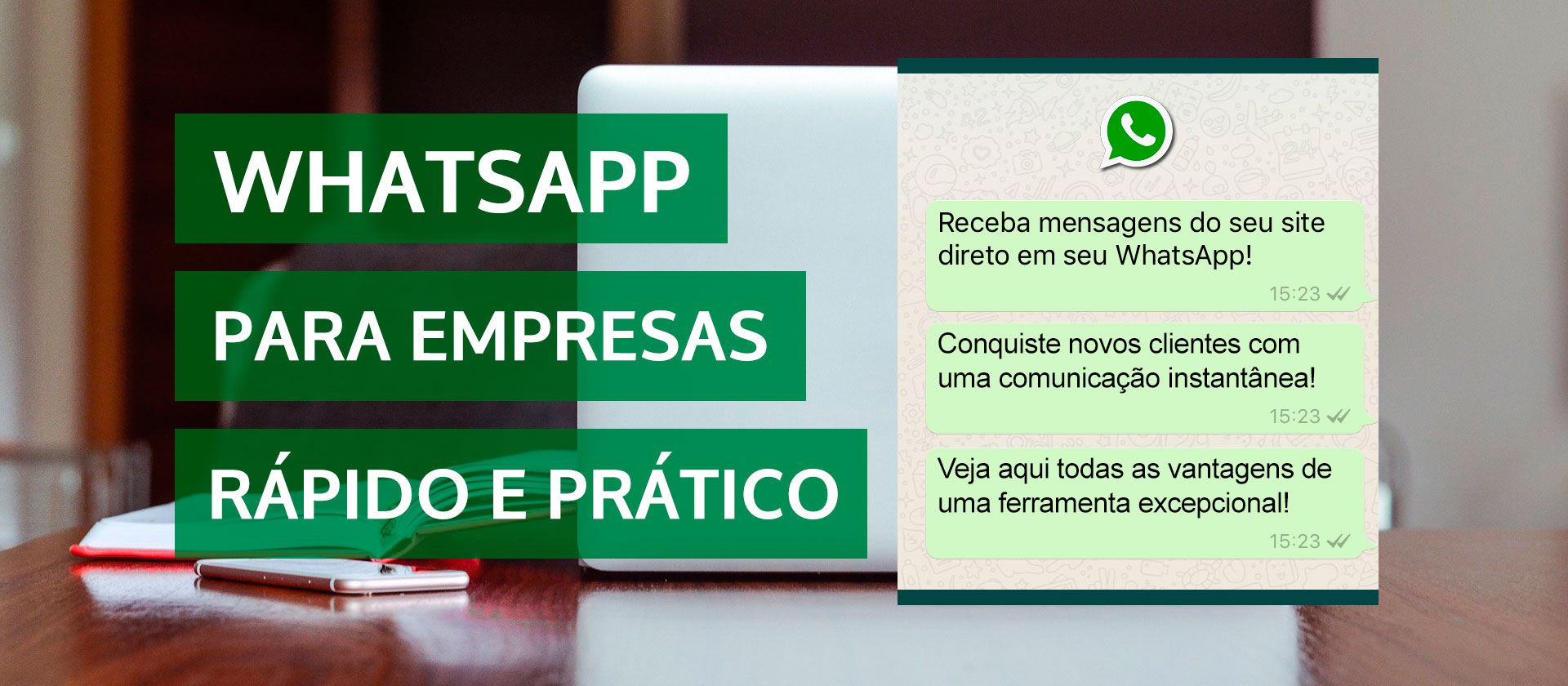 Whatsapp no site